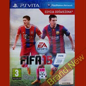 FIFA 15 PS VITA ~ Import, English gameplay - Brand NEW & Sealed