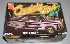Crusin USA '49 Ford AMT 1/25 Complete & Unstarted.