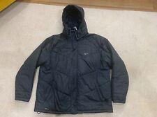Nike Mens XXL Black Coat With Hood