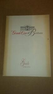 GUIDE 1998 1999 - UNION DE GRANDS CRUS DE BORDEAUX