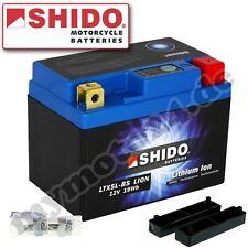 Batería Shido LiFePO4 Lithium LTX5L-BS / YTX5L-BS, 12V/4AH (Meidas: 114x71x106)
