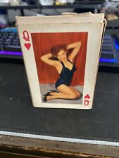 Vintage Plastic Coated Playing Cards
