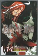 D.Gray-Man 14 Katsura Hoshino Shonen Jump Advanced Viz Media 2009 Good Condition