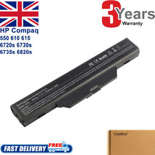 Battery for HP 550 Compaq 610 6735s 615 6720s 6730s 6820s 6830s HSTNN-IB51