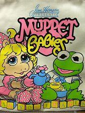 MUPPET BABIES tote-bag muppets circa 1984 Jim Henson show gym-bag Kermit