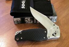 SOG New S95 Tom Cat III With Plain Edge VG-10 Blade Knife/Knives