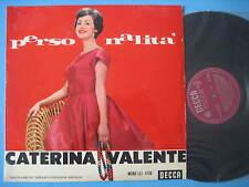 """CATERINA VALENTE """"Personalità"""" RARE LP ORIGINAL ITALY -  DECCA MONO - EX-EX+"""