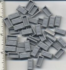 LEGO x 50 Light Bluish Gray Minifig, Utensil Ingot (Bar) NEW bulk treasure money