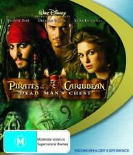 Pirates Of The Caribbean - Dead Man's Chest (Blu-ray, 2007) 2 disc set