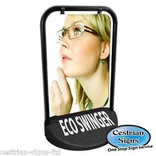 Eco Swinger Swinging Pavement Forecourt Shop Sign New, FREE Courier Delivery