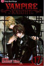 Vampire Knight Volume 17  Matsuri Hino    Manga NEW