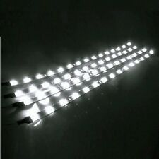 "4x 12"" Flexible Waterproof 15 LED Strip Underbody Light Car Motor Lamp Tape 12V"