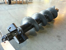 """Pengo Style XHD Dirt Auger 9""""x49"""" With 2"""" Hex"""