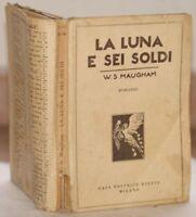 WILLIAM MAUGHAM LA LUNA E SEI SOLDI 1930 BIETTI COMPLET
