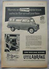 1959 Bedford Utilabrake Original advert