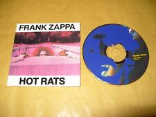 Frank Zappa Hot Rats 6 Track cd 1987 Excellent Condition