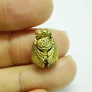 Thai Amulet Bumblebee Charm Attract Luck Wealthy Protect Ghosts Black Magic Safe