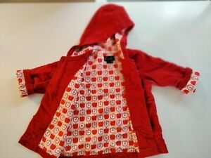 Oobi red Coat/Jacket Size 1 Apple