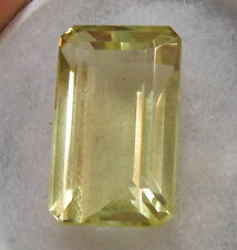 BEAUTIFUL 35CT GOLDEN COLOR NATURAL EARTH MINED LEMON TOPAZ FROM SRI LANKA