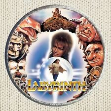 Labyrinth Characters Patch Picture Embroidered Border David Bowie Goblin King