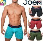 Joem Boxer Briefs Men Sports Underwear Cool Quick Dry Long Leg Trunks Underpants
