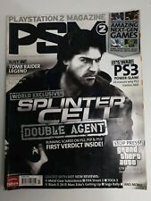 PS2 PSM Video Game Magazine March 2006 #72 - World Exclusive Splinter Cell