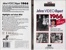 VHS - NEU - SAT 1 Report 1966 - Jahres Video Report 1966