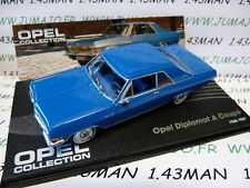 OPE26 voiture 1/43 IXO eagle moss OPEL collection : DIPLOMAT A coupé 1965/1967