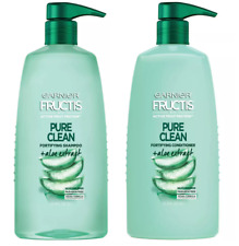 Garnier Fructis Pure Clean Aloe Extract Fortifying Conditioner and Shampoo Set