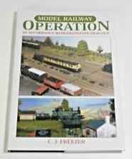 Model Railway Operation: C.J.Freezer
