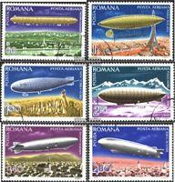 Rumänien 3499-3504 (kompl.Ausg.) gestempelt 1978 Luftschiffe