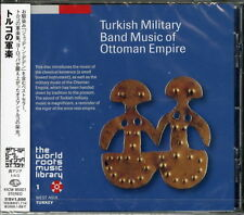 V.A.-TURKISH MILITARY BAND MUSIC OF OTTOMAN EMPIRE-JAPAN CD Ltd/Ed D50