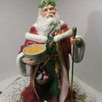"Vintage Tall Lenox Santa-Claus ""Father Christmas"". With Original Box & Papers"