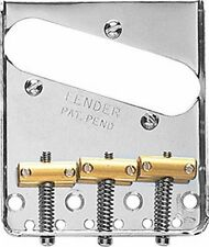 Chevalet Bridge Telecaster Tele nickel neuf FENDER Pontets brass