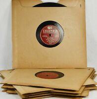 """CARLO BUTI 78rpm Amazing Lot - 10 Columbia 10"""" Records - """"The Italian Sinatra"""""""