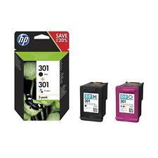 ORIGINAL HP Multipack nero / differenti colori N9J72AE 301 2x inchiostro HP 301: