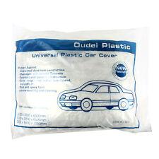 Wholesale 20 PACK Clear Plastic Disposable Car Cover Universal Rain Dust Garage