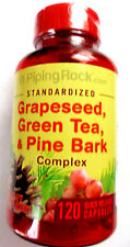 GrapeSeed Extract Green Tea & Pine Bark Complex Standardized 120 Pills Capsules