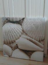LW049 Bild Wandbild Leinwand Bilder Kunstdruck Schnecken Seesterne Muscheln