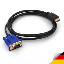 HDMI auf zu VGA 1.8 meter Male Adapter Laptop PC Projektor 1080 Monitor Video
