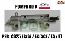 POMPA OLIO ORIGINALE MOTOSEGA HITACHI TANAKA CS25EC CS25ECS CS2529 TCS2801