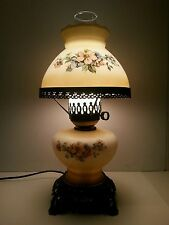 Vintage Gone With the Wind Huricane Lamp Flowers GWTW