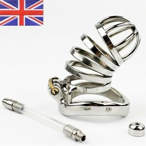 Stainless Steel Prison Bird Male chastity cage Device  Next day Delivery