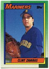 Clint Zavaras Mariners #89 Topps 1990 Baseball Card (C246)