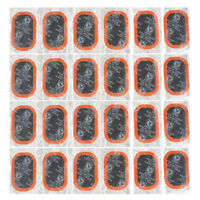 24pcs Motor Bicycle Bike Tyre Tire Inner Tube Puncture Rubber Patches Repair Kit