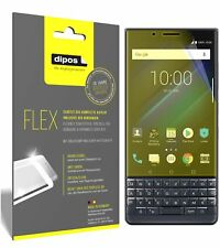 3x Blackberry Key 2 LE Screen Protector Protective Film covers 100% dipos Flex