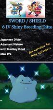 6IV Shiny JAPANESE Breeding Ditto