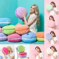Macaron Shape Plush Cushion Round Cake Cushion Pillow Wedding Christmas Gift