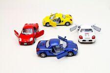"4PC Set: 5"" Kinsmart Toyota MR2 Diecast Model Toy Car 1:32"