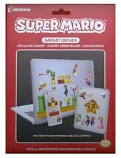 SUPER MARIO GADGET DECALS 4 sheets 90 Vinyl Stickers